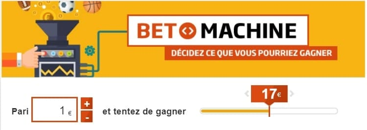 Bet machine