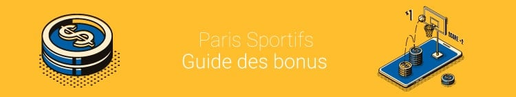 guide bonus pari sportifs