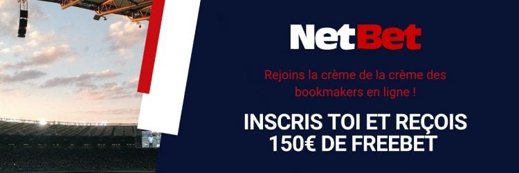 bonus netbet pari gratuit