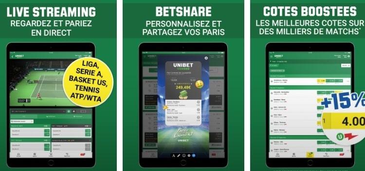 Versions app mobile