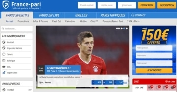 France Pari page accueil