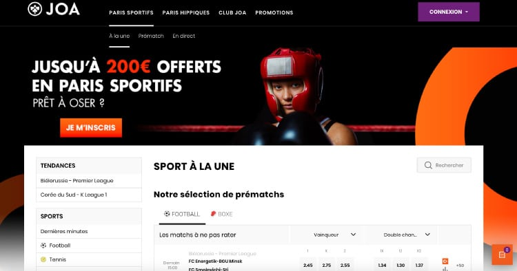 joaonline.fr site