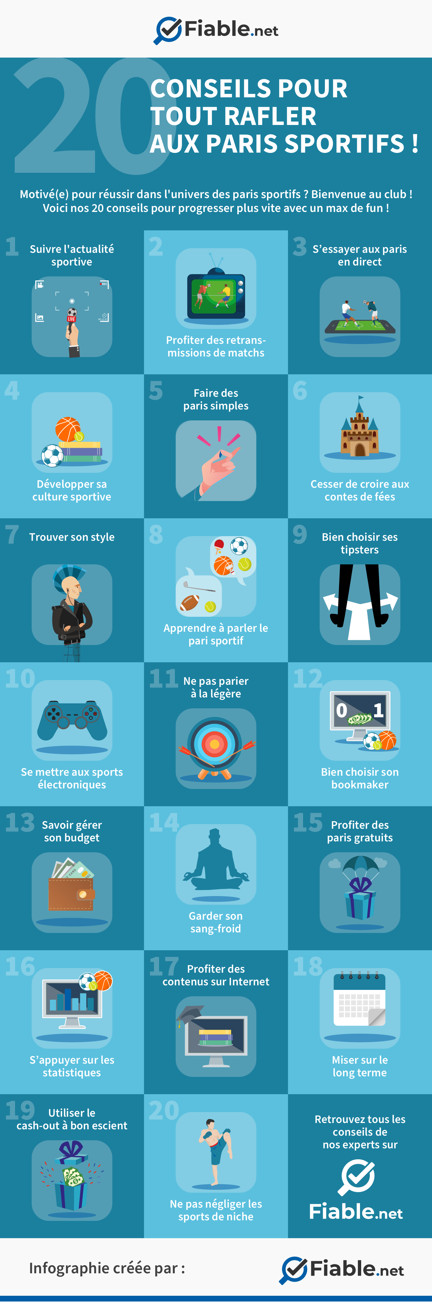 20 conseils paris sportifs