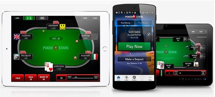 aperçu pokerstars mobile