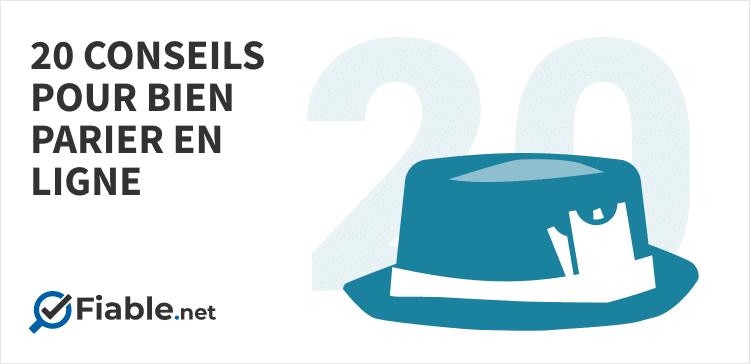 20 conseils bien parier en ligne, chapeau de magicien