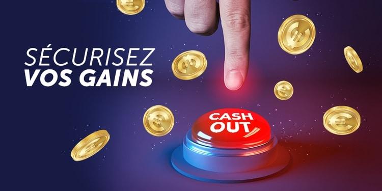 cash out netbet, pièces de monnaie, doigt, buzzeur