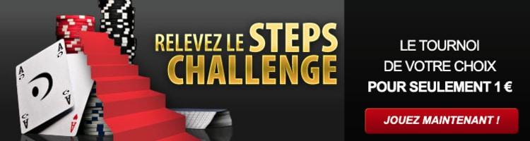 Sit&Go Steps Betclic Poker